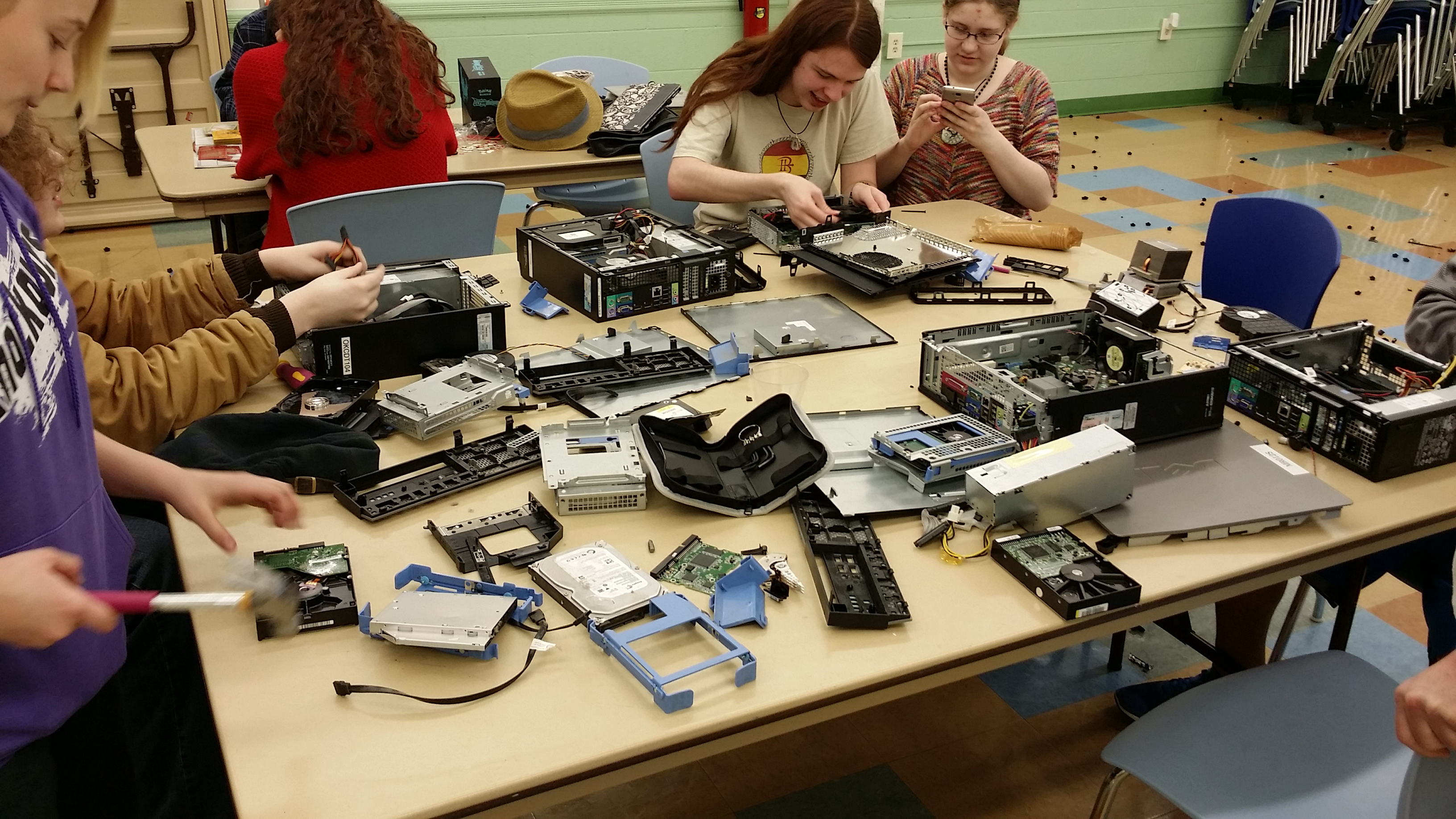 Teen Tech Take Apart