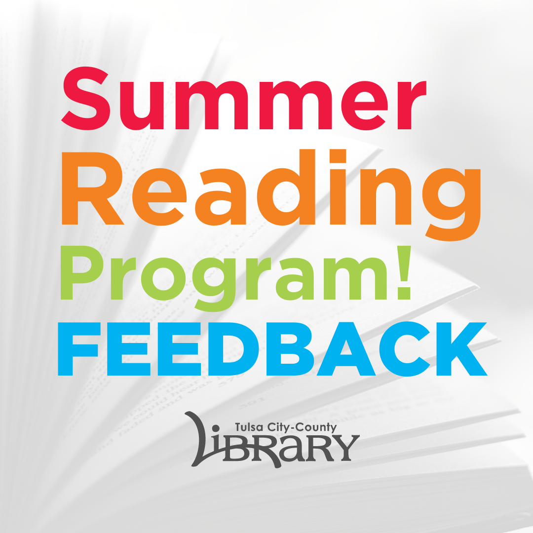 Summer Reading Program Feedback