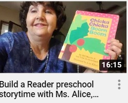 Miss Alice Storytime