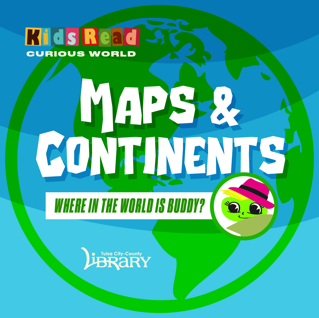Kids Read Maps and Continents
