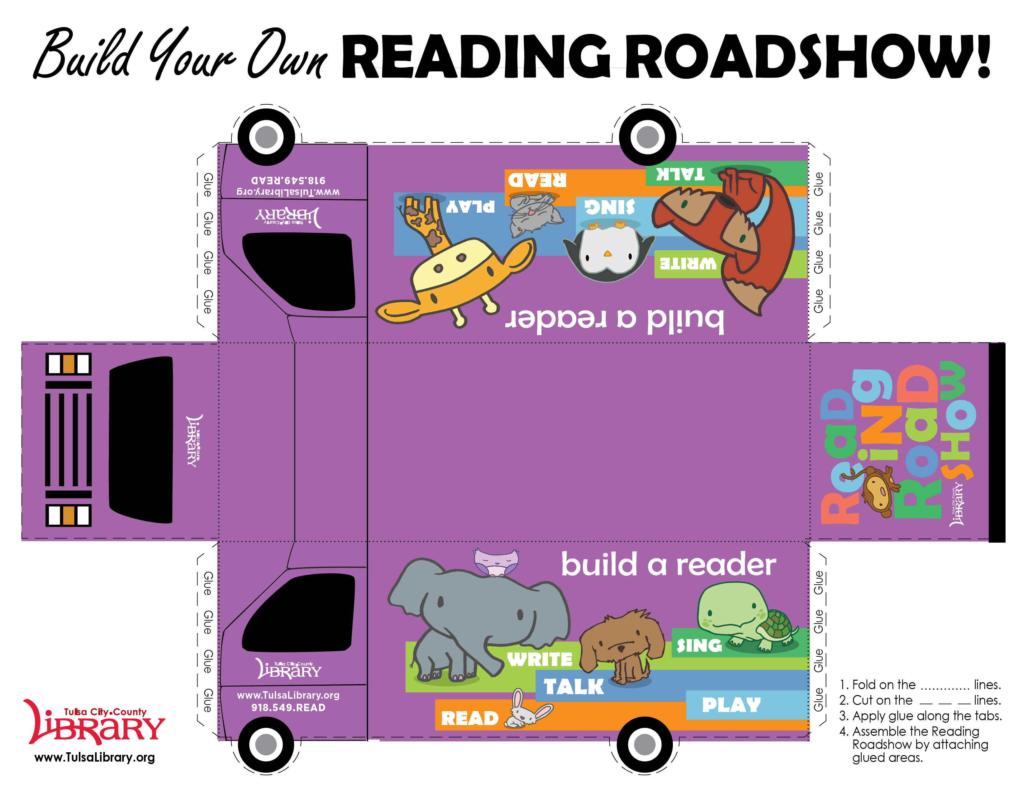 Build Your Own Reading Roadshow