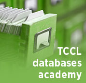 TCCL databases academy