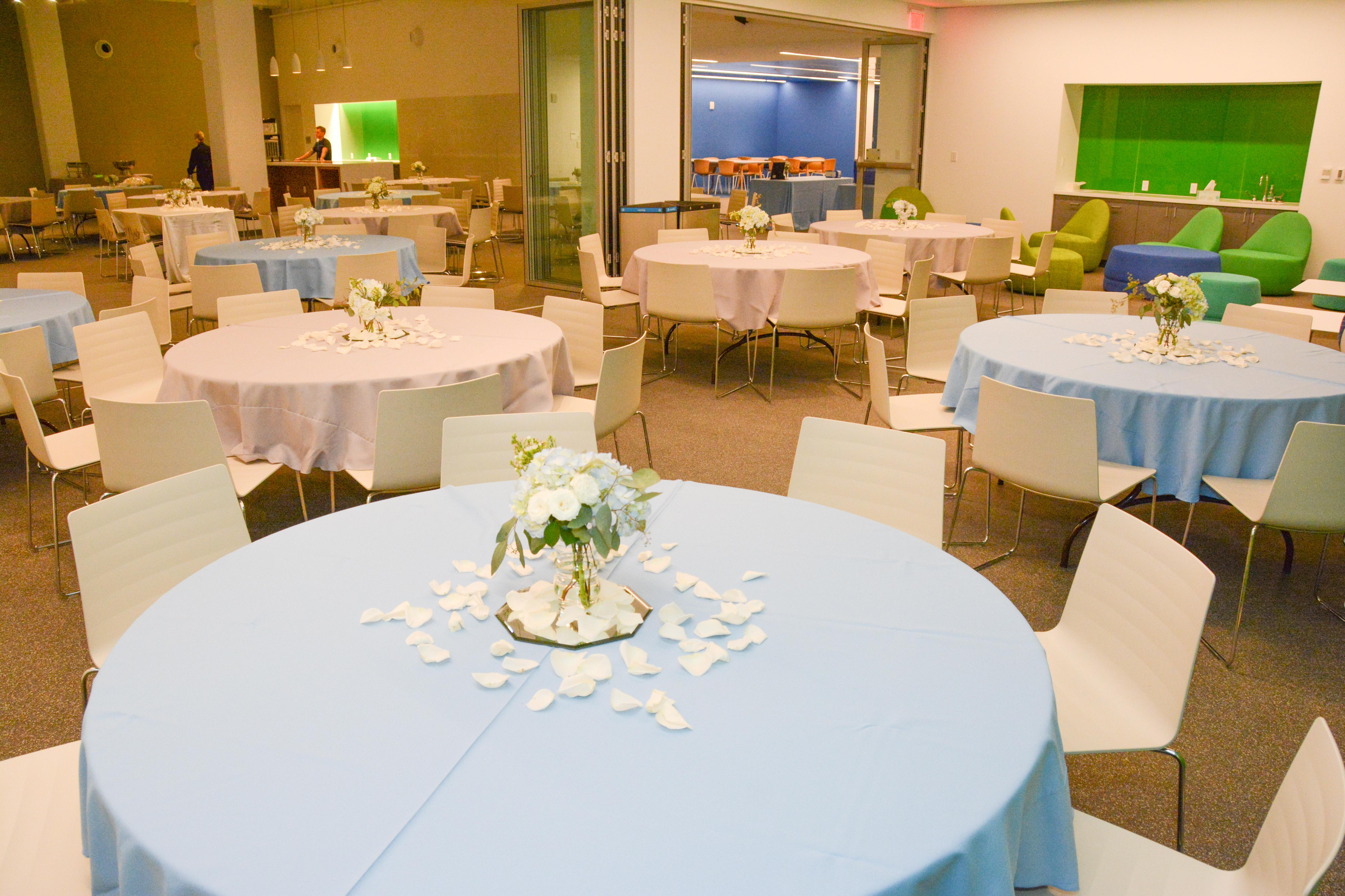 event room decoration for wedding reception