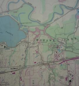 USGS Topographic Map of Mohawk Park in Tulsa