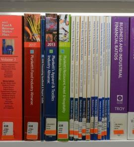 Spines of business reference titles