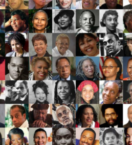 collage of African American authors