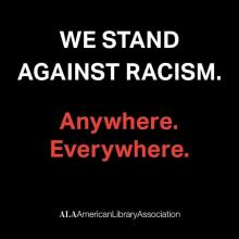 We Stand Against Racism.